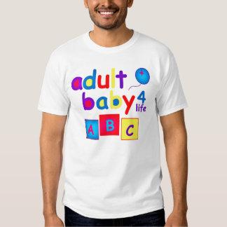 Bebé de AB/Adult para el diseño brillante de la Remera