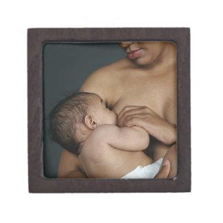 Bebé de amamantamiento de la madre (6-11 meses) caja de joyas de calidad