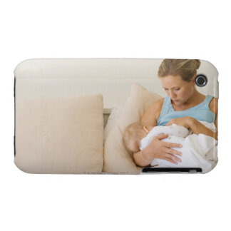 Bebé de amamantamiento de la mujer Case-Mate iPhone 3 carcasas
