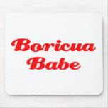 Bebé de Boricua Tapetes De Ratones