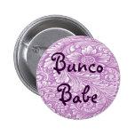 Bebé de Bunco con el botón de la flor Pin