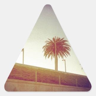 ¡Bebé de California! Pegatina Triangular