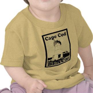 Bebé de Cape Cod Camisetas