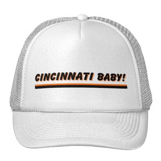 ¡Bebé de Cincinnati! Gorras