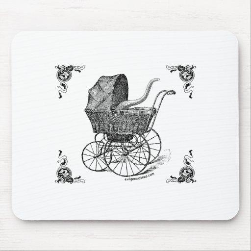 Bebé de Cthulhu del Victorian de Steampunk Tapete De Ratón
