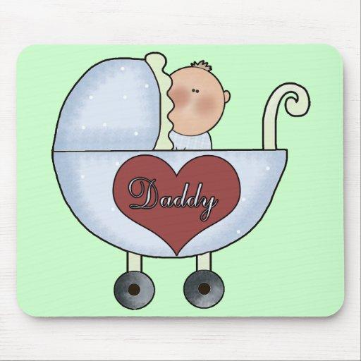 Bebé de Daddys Tapete De Raton