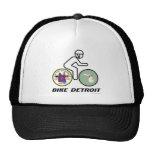 Bebé de Detroit de la bici Gorras