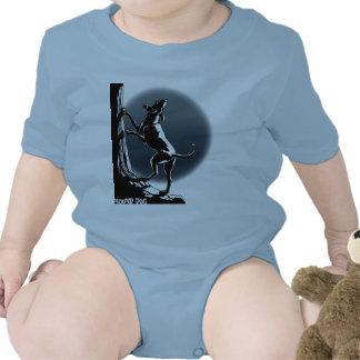 Bebé de encargo del perro de la enredadera del beb traje de bebé