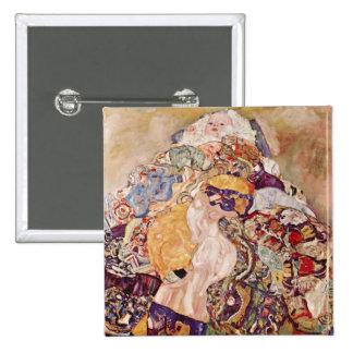 Bebé de Gustavo Klimt Pin