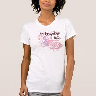 Bebé de la antropología camisetas