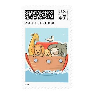 Bebé de la arca del KRW Noah lindo Timbres Postales