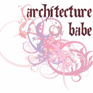Bebé de la arquitectura escultura fotografica