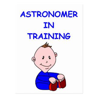 bebé de la astronomía postal