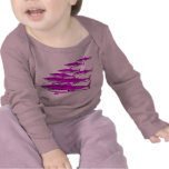Bebé de la brigada del tiburón camiseta
