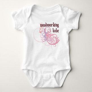 Bebé de la carpintería camisas