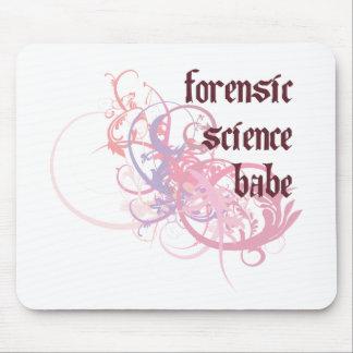 Bebé de la ciencia forense tapete de raton