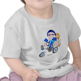 Bebé de la disputa camiseta