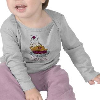 Bebé de la empanada de Cutie Camisetas