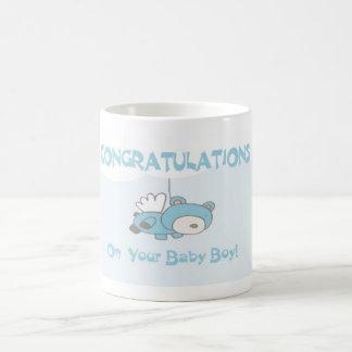 Bebé de la enhorabuena - taza