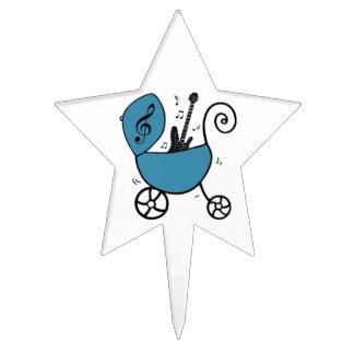 """""""Bebé de la estrella de Little Rock"""" Figuras Para Tartas"""