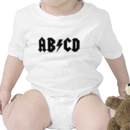 Bebé de la estrella del rock camiseta