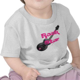 bebé de la estrella del rock, estrella del rock camisetas