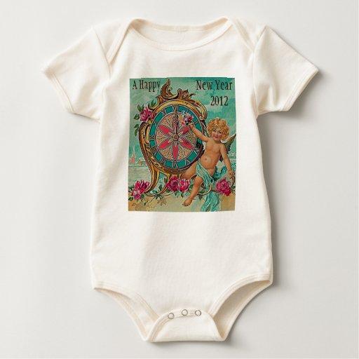 bebé de la Feliz Año Nuevo Body Para Bebé