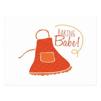 Bebé de la hornada tarjetas postales