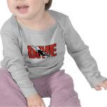 Bebé de la impulsión del EQUIPO DE SUBMARINISMO Camiseta