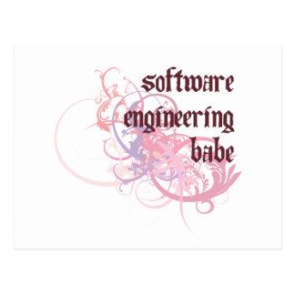Bebé de la ingeniería de programas informáticos postal