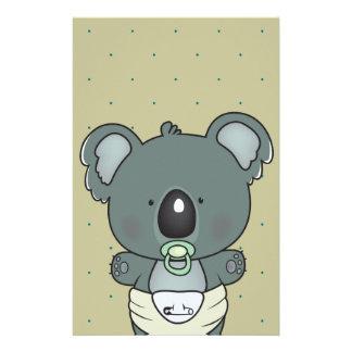 bebé de la koala papeleria de diseño