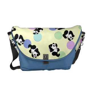 Bebé de la manía de la panda bolsas de mensajería