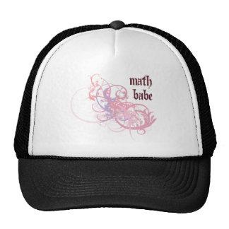 Bebé de la matemáticas gorro