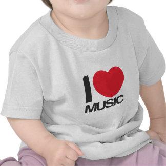 Bebe de la música del amor de Camiseta I