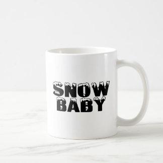 Bebé de la nieve taza clásica