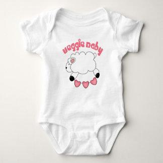 Bebé de la niña del Veggie Body Para Bebé