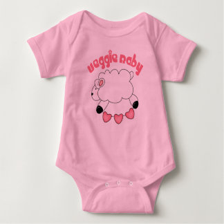Bebé de la niña del Veggie Camisas
