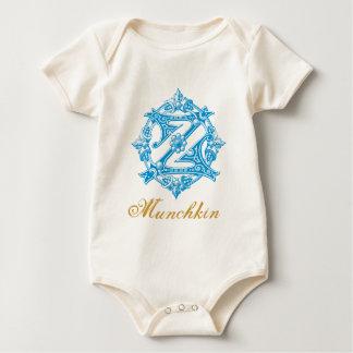 Bebé de la onza Munchkin Mameluco De Bebé
