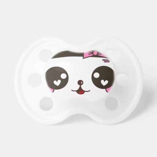 Bebé de la panda chupete de bebe