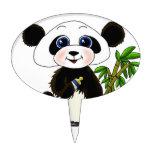 Bebé de la panda decoraciones para tartas