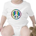 Bebé de la paz trajes de bebé