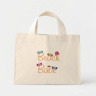 Bebé de la playa bolsa de tela pequeña