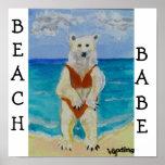 BEBÉ de la playa de Boracay Posters