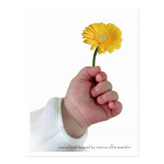 Bebé de la primavera tarjetas postales