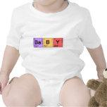 Bebé de la química camisetas
