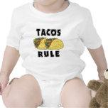 Bebé de la regla del Tacos Traje De Bebé