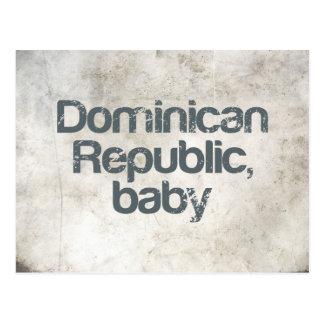 Bebé de la República Dominicana Postal