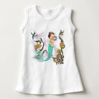Bebé de la sirena vestido