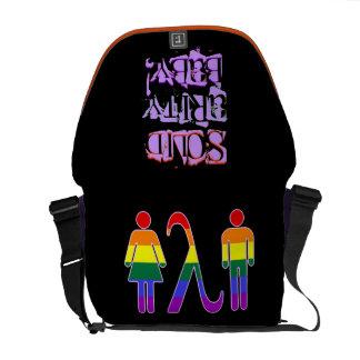 ¡Bebé de la solidaridad del ~ de LGBT! Bolsas De Mensajería