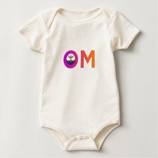 Bebé de la yoga de OM Mamelucos